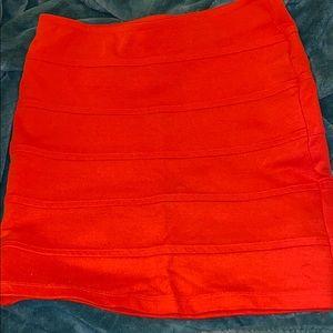 Tight short skirt